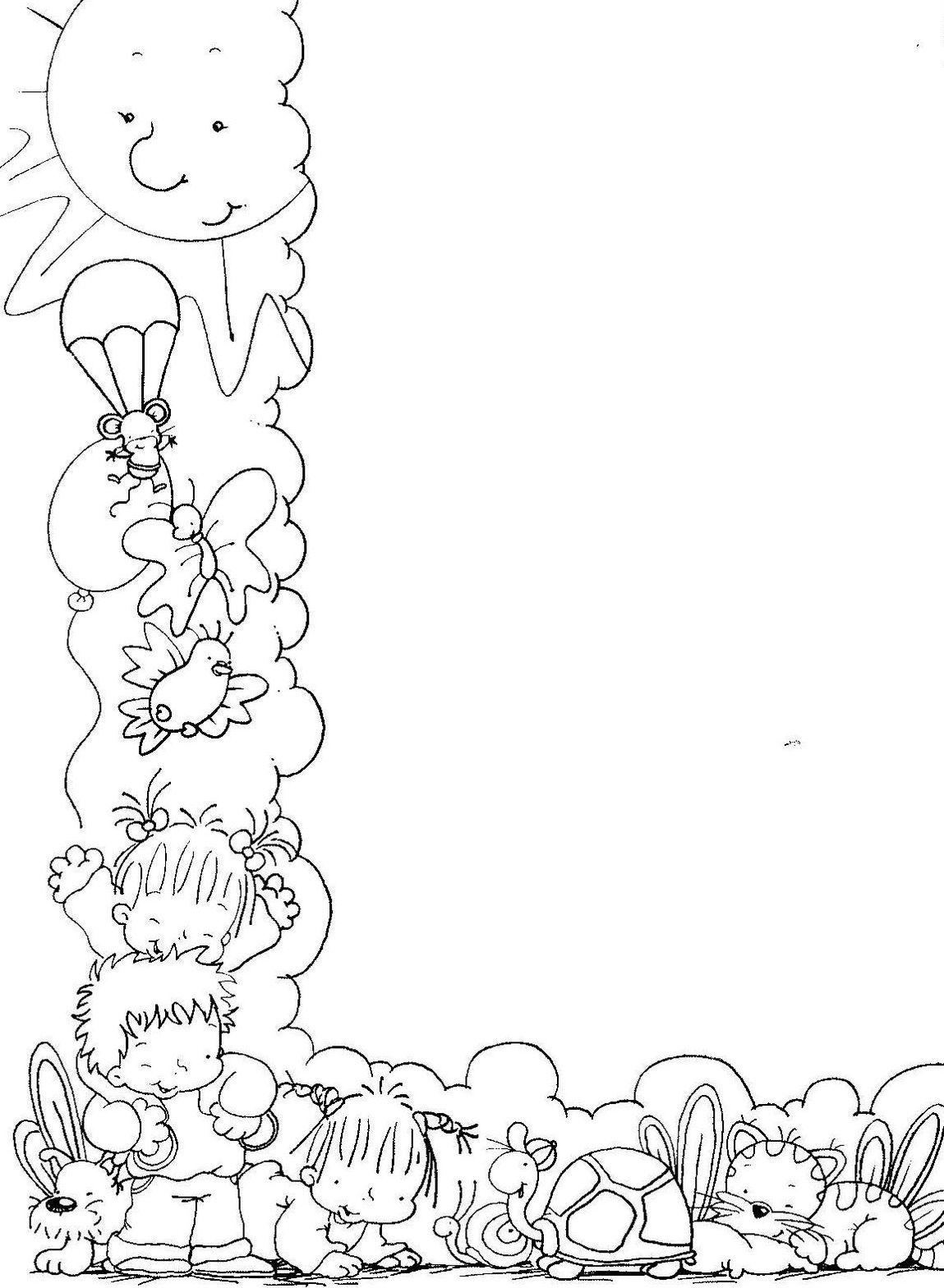 Encantador Páginas Para Colorear De Verano Para Imprimir Friso ...