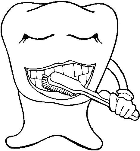 Cepillarse los dientes: Actividades para colorear y enseñar ...