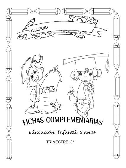 portadas para notas trabajos fichasrecursos para el maestro