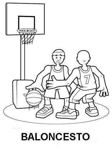 JJOO de Londres 2012: Dibujos de deportes para colorear