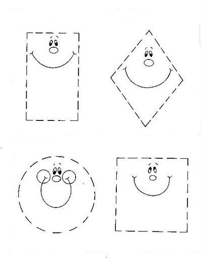 Formas geométricas para recortar | Escuela en la nube | Recursos ...