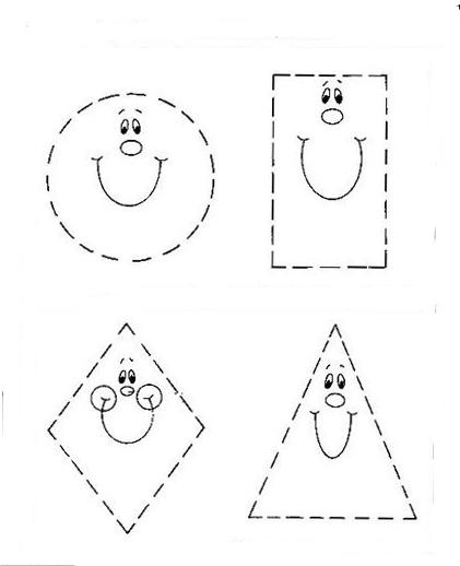 formas geom tricas para recortar