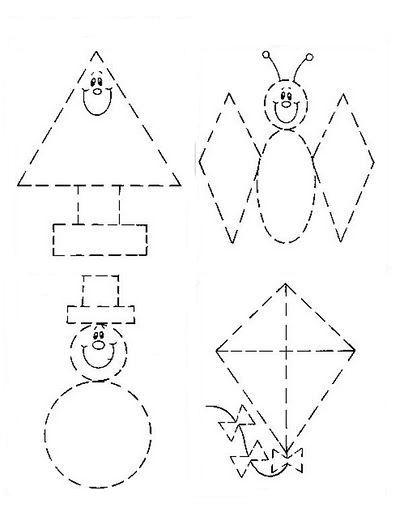 Formas geomtricas para recortar