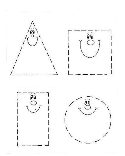 Figuras geometricas para colorear - Maneras de pintar ...