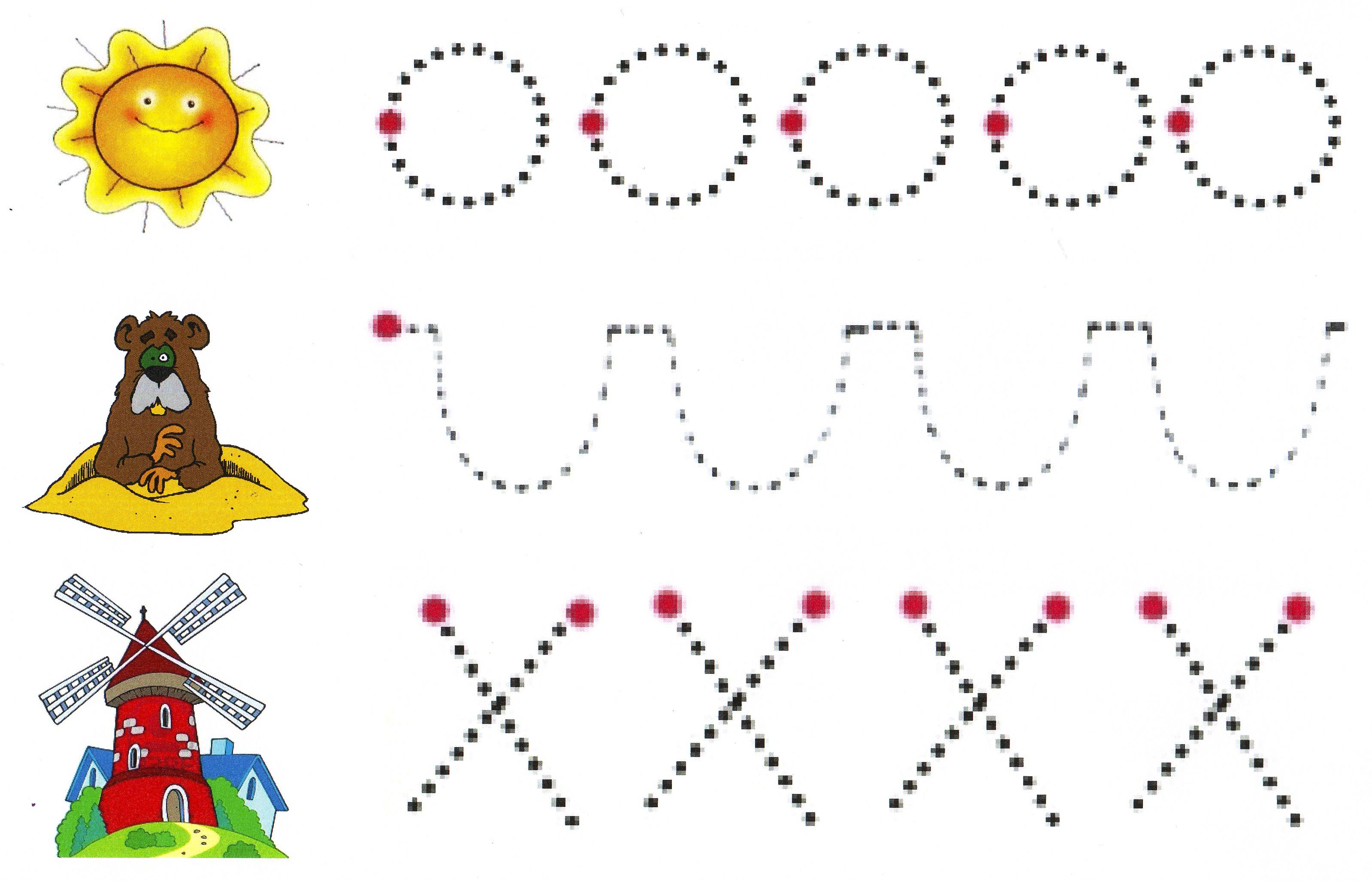 Actividades de trazos para ninos de preescolar graffiti - Actividades para ninos pequenos ...