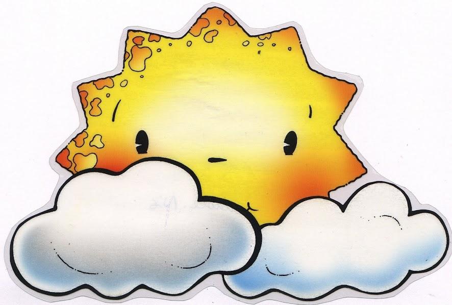 El tiempo fichas para aprender - Imagenes de nubes infantiles ...