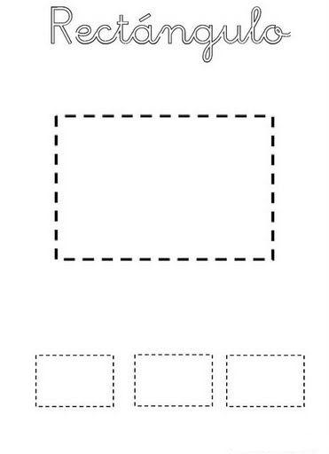 Formas Geométricas Para Recortar Escuela En La Nube Recursos