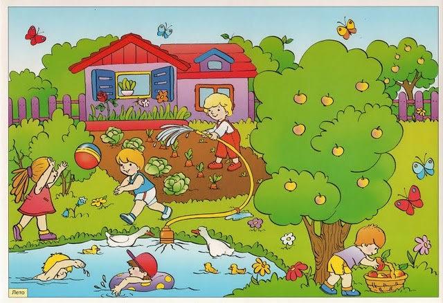 загадки о весне на английском языке
