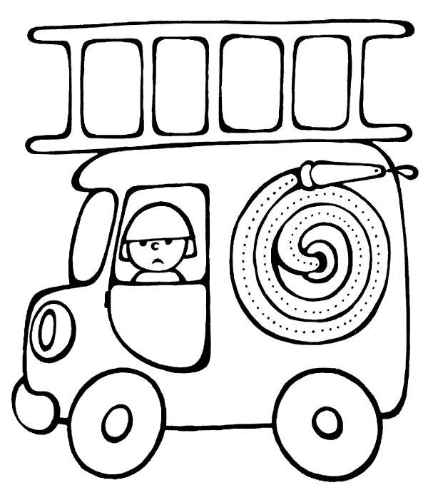 Dibujos Para Colorear De Transportes Coches Barcos Trenes Aviones
