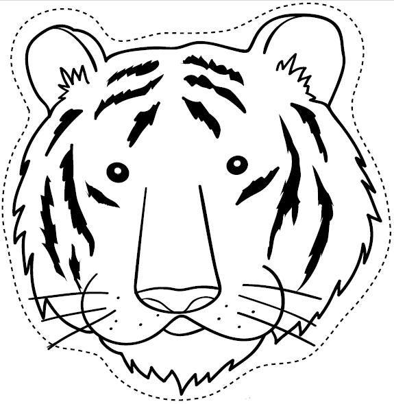 Maestra de Infantil: Caretas de animales para colorear e imprimir.