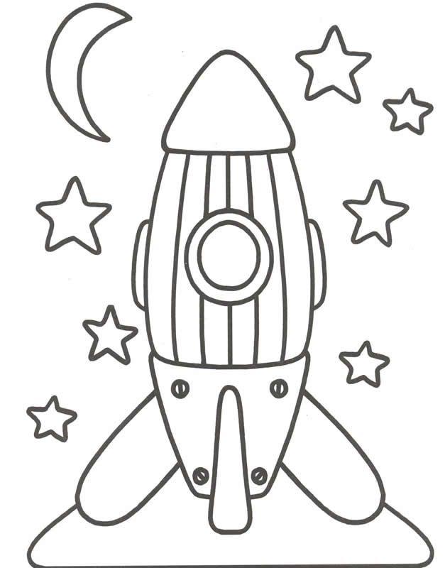 Lujoso Páginas Para Colorear Avión Para Niños Pequeños Ilustración ...