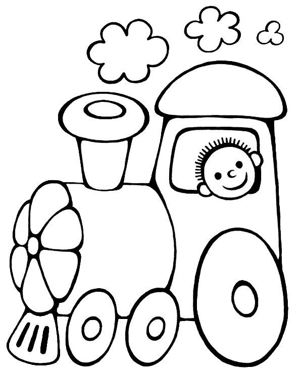 Trencito Infantil Para Colorear Imagui