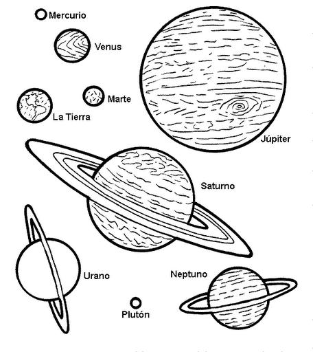 Imagenes del sistema solar para niños de kinder - Imagui