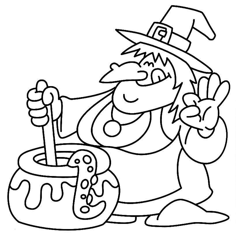 Llega Halloween !! ▷ Dibujos para colorear en Halloween
