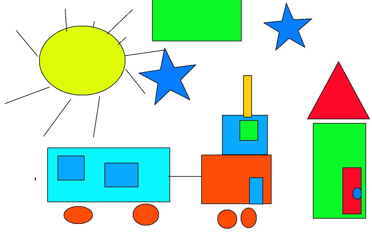 Formas y figuras geom tricas for Cuadros con formas geometricas