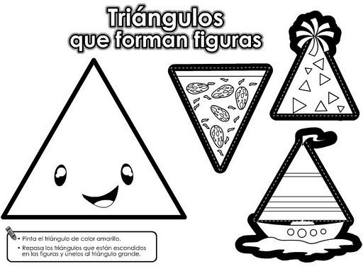 Dibujos que tengan triangulos - Imagui