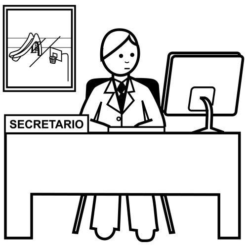 Como Dibujar A Una Secretaria Imagui