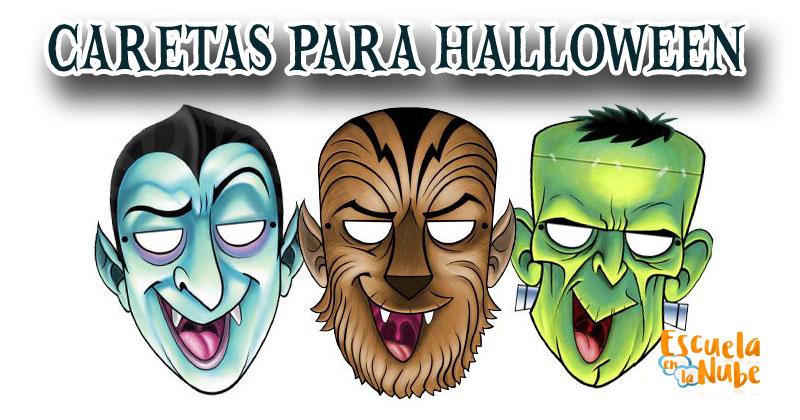 caretas para Halloween