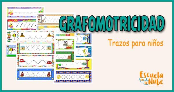 trazos para niños, grafomotricidad, grafomotricidad infantil, grafomotricidad para niños