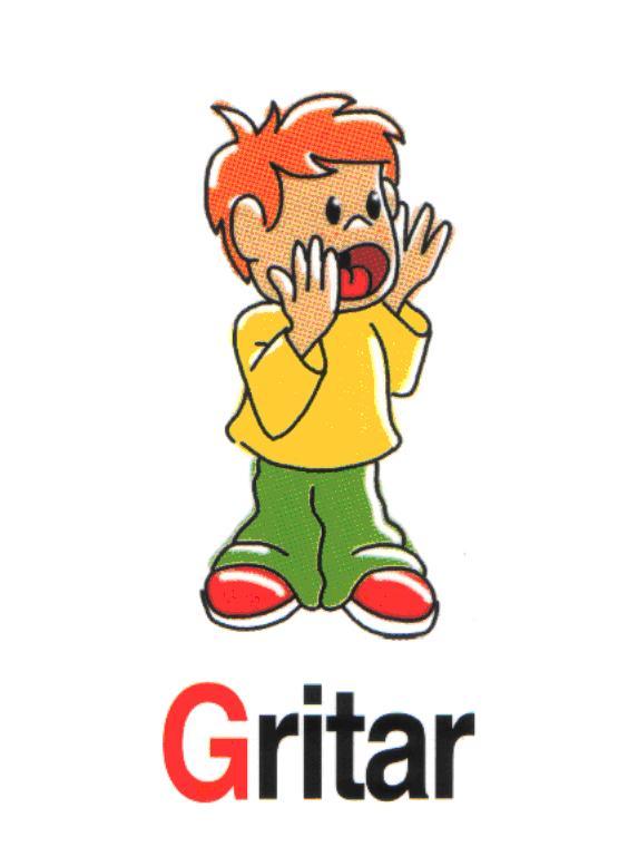 niños gritando Colouring Pages (page 2)
