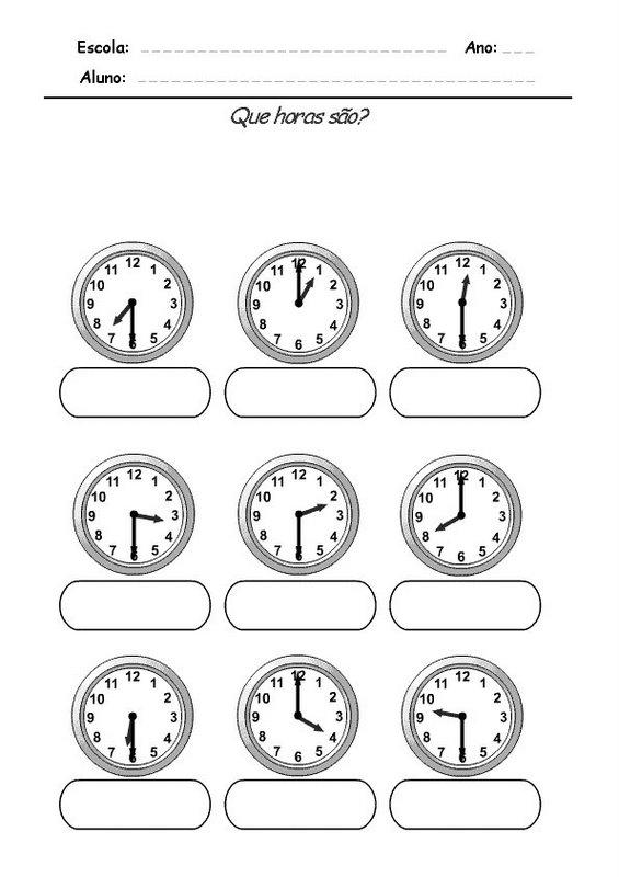 Mtodos para aprender las horas del reloj