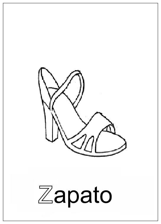Letras del abecedario para colorear a Z Letras del abecedario