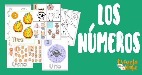 números del 1 al 20