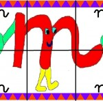 m 150x148 Crea entretenidos puzzles con las letras del abecedario