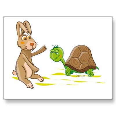 Fábulas para niños: La liebre y la tortuga