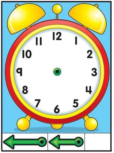 reloj 35 Métodos para aprender las horas del reloj