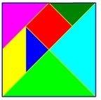 01tangram Juego de Percepción visual: El Tangram tamgran Razonamiento lógico espacial Percepción visual Percepción de figura y fondo Orientación espacial memoria visual Estructuración espacial estimular niño estimulacion Coordinación visomotora atencion