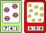 Cartas y ruedas para aprender a contar