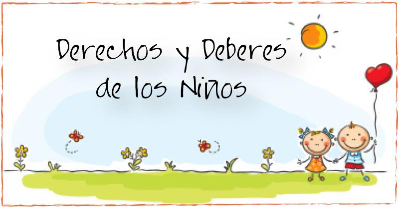 02derechos y deberes » Escuela en la nube | Recursos para Infantil ...