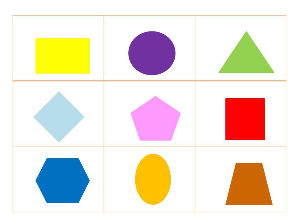 Fotos e nomes de todas as figuras geometricas 19