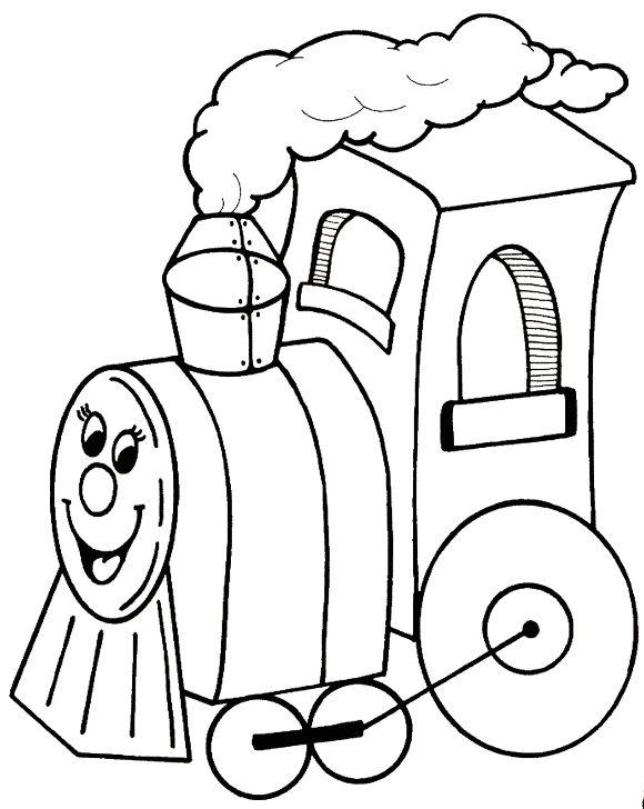 Tren Para Colorear Meses De Año Imagui