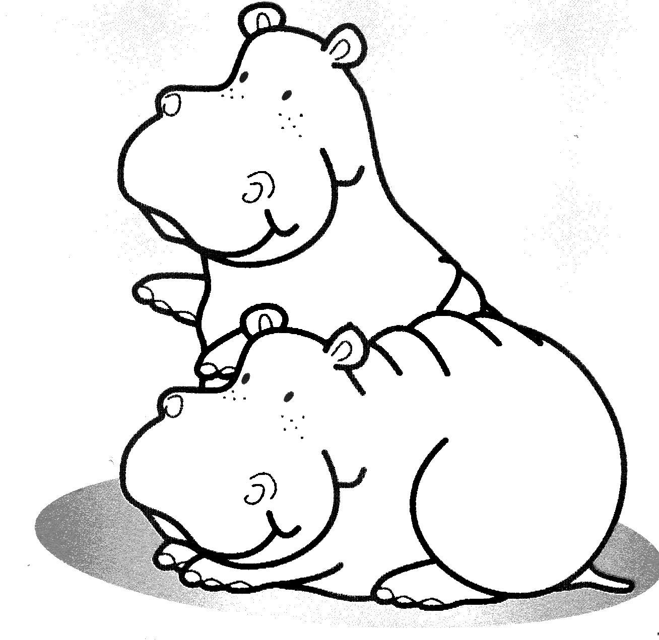 Dibujos Para Pintar Animales. Excellent Dibujo Para Colorear ...