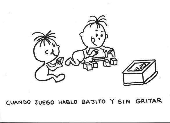 Dibujo de niño gritando para colorear - Imagui