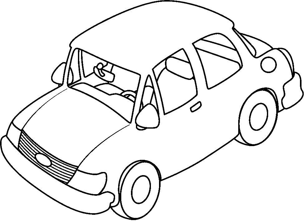 Dibujos De Coches Para Colorear Faciles: Coches Para Dibujar. Great Dibujo Coches Infantiles Para
