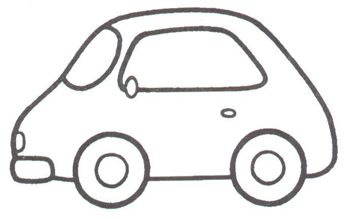 Autos para colorear infantil - Imagui