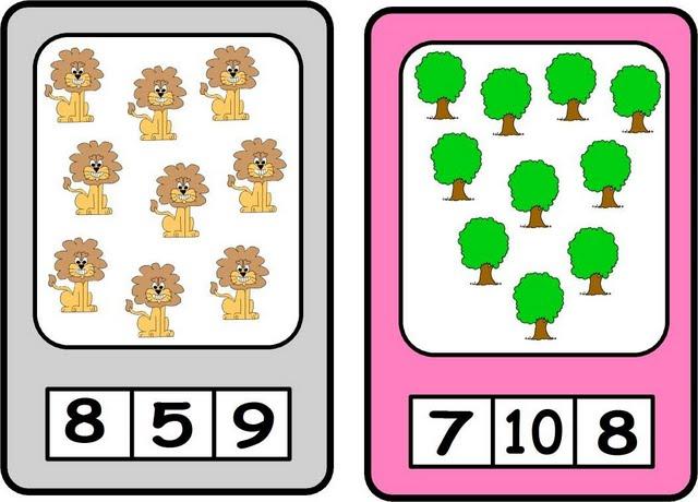 contar, números, fichas numericas, matematicas, aprender a contar