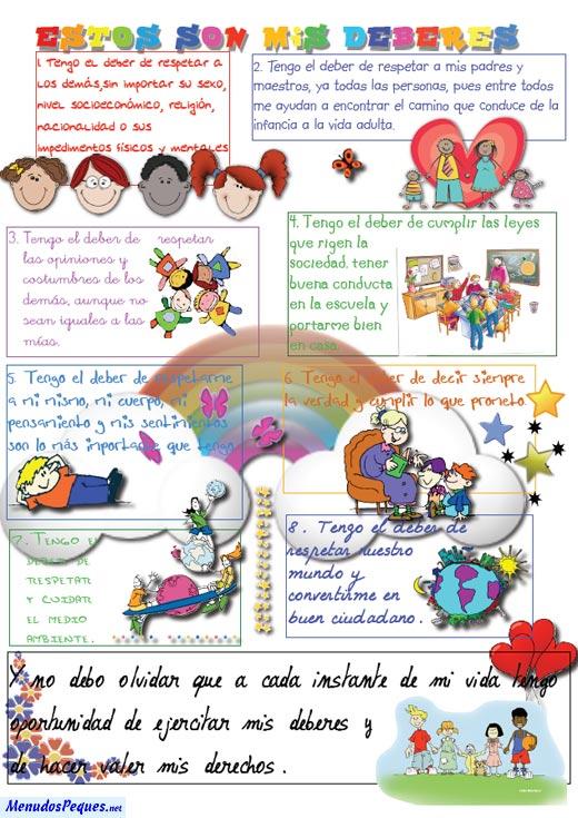 Derechos y deberes de los niños -