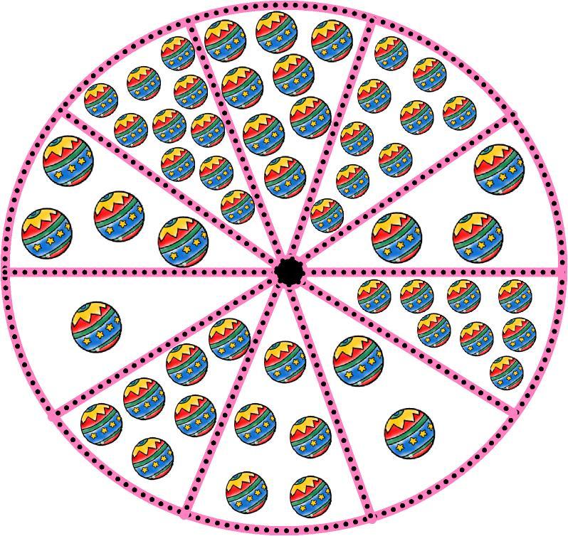 imagenes de una ruleta para colorear