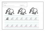 09grafomotricidad letra e 150x105 Grafomotricidad: Trabajar la letra E recursos maestro recursos aula preescritura maestro grafomotricidad de letras grafomotricidad fichas grafo