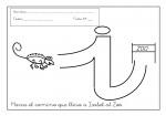 09grafomotricidad letra i 150x105 Grafomotricidad con la letra I trazos recursos problemas educativos letras para escribir grafomotricidad familia escritura educacion infantil dibujos colorear actividades niños