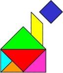 10tangram 128x150 Juego de Percepción visual: El Tangram tamgran Razonamiento lógico espacial Percepción visual Percepción de figura y fondo Orientación espacial memoria visual Estructuración espacial estimular niño estimulacion Coordinación visomotora atencion