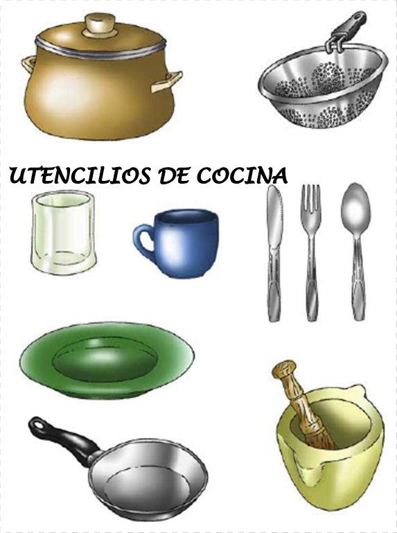 Utensilios de cocina dibujos a color dibujos para for Utensilios de cocina para pintar