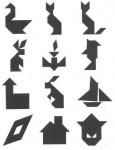 12tangram 115x150 Juego de Percepción visual: El Tangram tamgran Razonamiento lógico espacial Percepción visual Percepción de figura y fondo Orientación espacial memoria visual Estructuración espacial estimular niño estimulacion Coordinación visomotora atencion