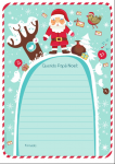 Modelos de cartas para los Reyes Magos y Papá Noel