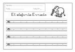 14grafomotricidad letra e 150x105 Grafomotricidad: Trabajar la letra E recursos maestro recursos aula preescritura maestro grafomotricidad de letras grafomotricidad fichas grafo