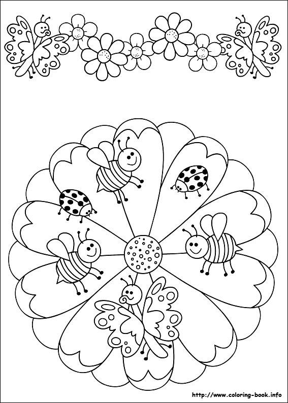 Mandalas ejercicios para la atenci n de los ni os for Mandalas ninos